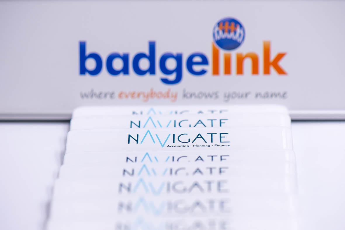 Resin Name Badge