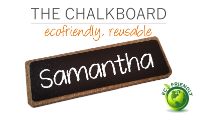 Chalkboard Reusable Name Badges