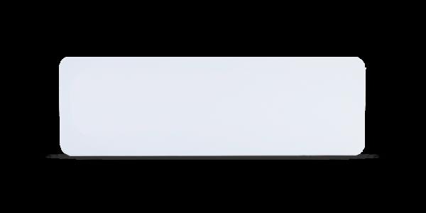 Blank Badge White